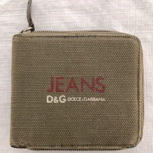D&G 90's vintage wallet